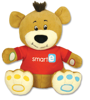 THE ONLY SOFT BEAR WITH SMART-E-SOFTWARE